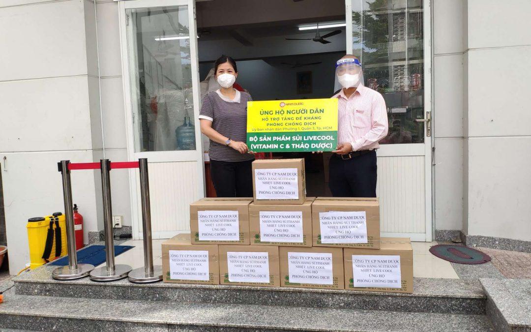 Chuỗi hoạt động tặng sủi Livecool hỗ trợ tăng đề kháng cho người dân được Đài truyền hình thành phố Hồ Chí Minh đưa tin.